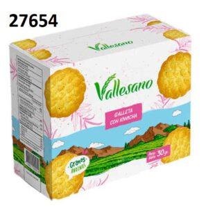 VALLESANO GALLETA KIWICHA  SIX PACK – 27654